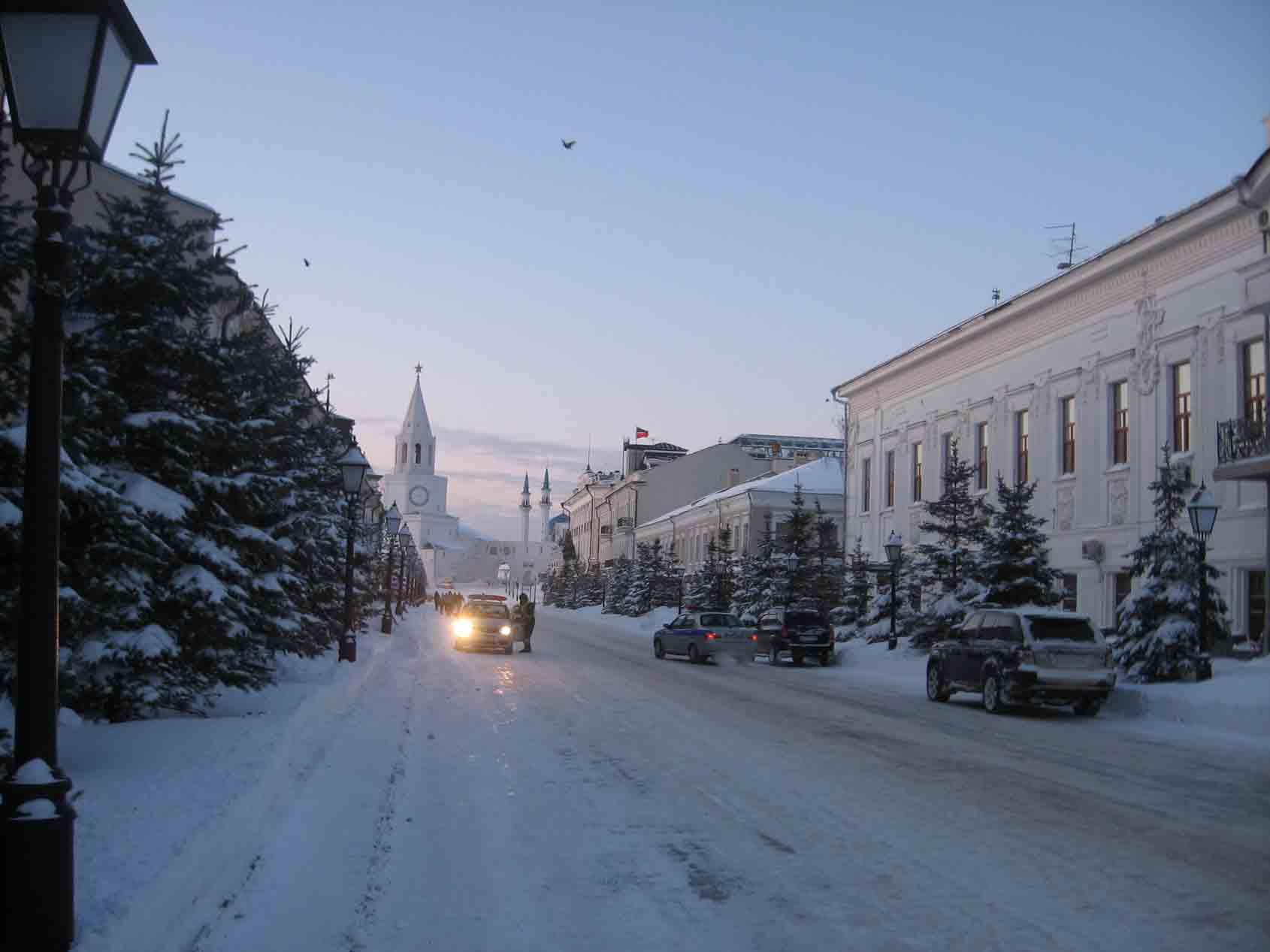 Казань зимой фото картинки